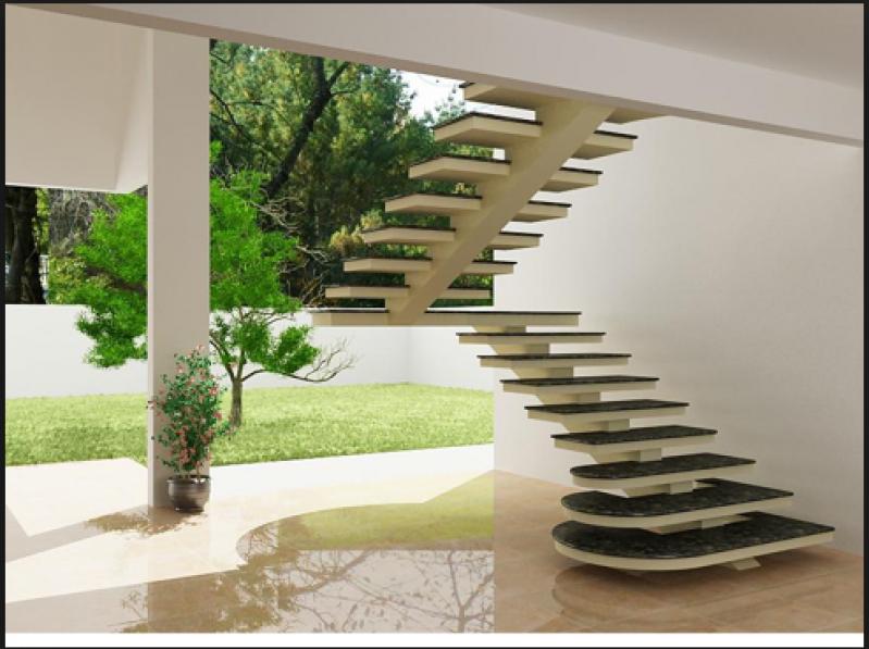 Construção de Escada Grande Vila Buarque - Escada de Alvenaria