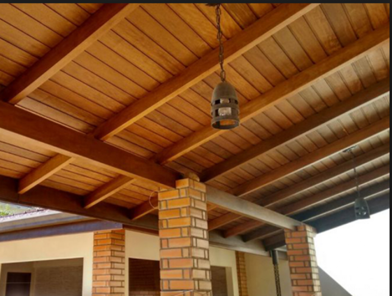 Construção de Telhado para área Externa Luz - Telhado Residencial