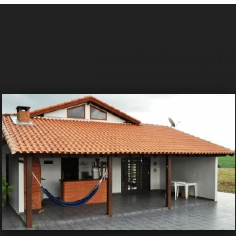 Construção de Telhado para área Gourmet Vila Ristori - Telhado para área Gourmet