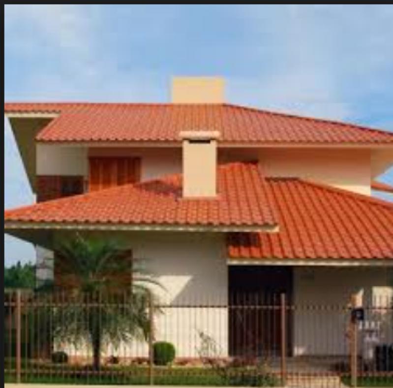 Construção de Telhado Residencial Parque Dom Pedro - Telhado para área Gourmet