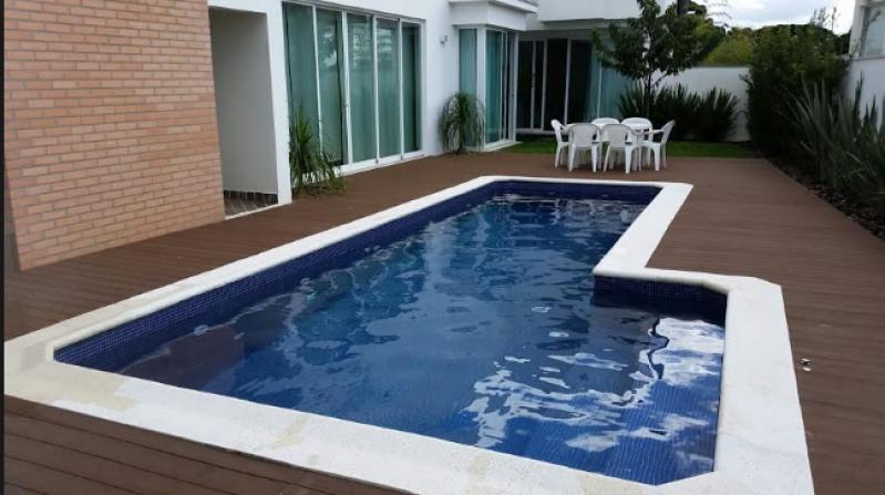 Empresa para Construção de Piscina em Alvenaria Aeroporto de Guarulhos - Construção de Piscina em Condomínio