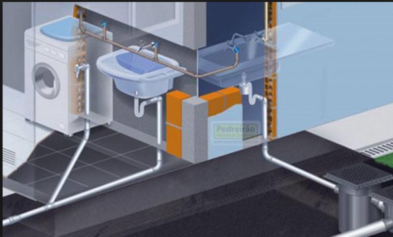 Encanamento área de Serviço Mandaqui - Encanamento água Quente e Fria