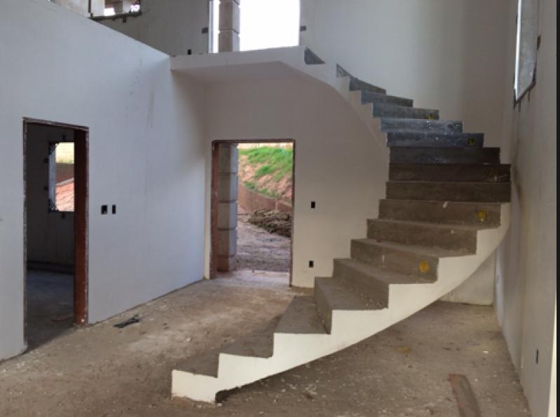 Escada Entrada Residencial Glicério - Escada Grande