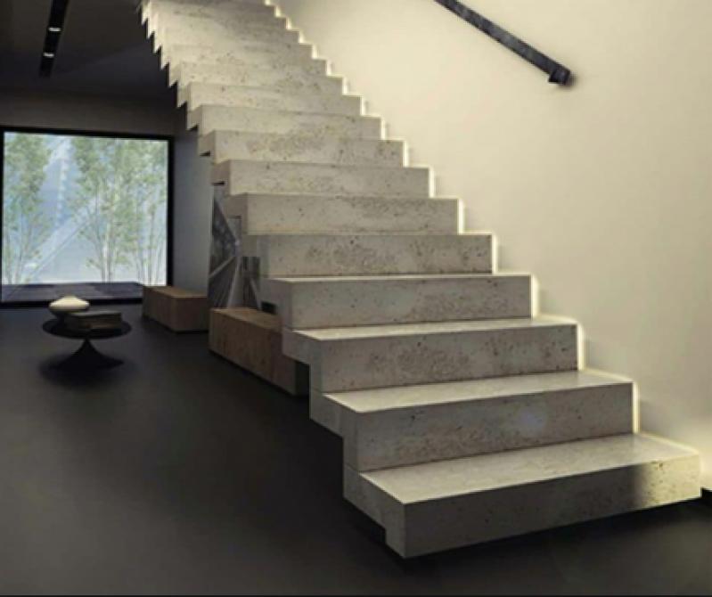 Escada Grande Recanto Bom Jesus - Escada de Pedra Rústica