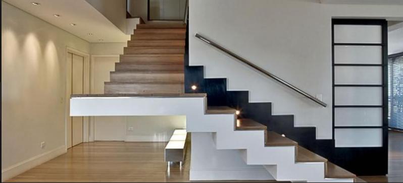 Escadas de Alvenaria CECAP - Escada de Pedra