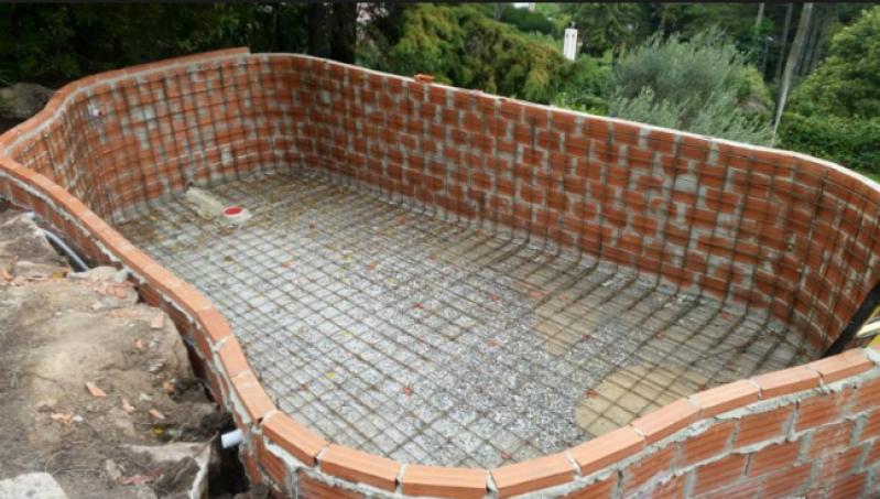 Orçamento para Construção de Piscina Simples Anália Franco - Construção de Piscina de Alvenaria