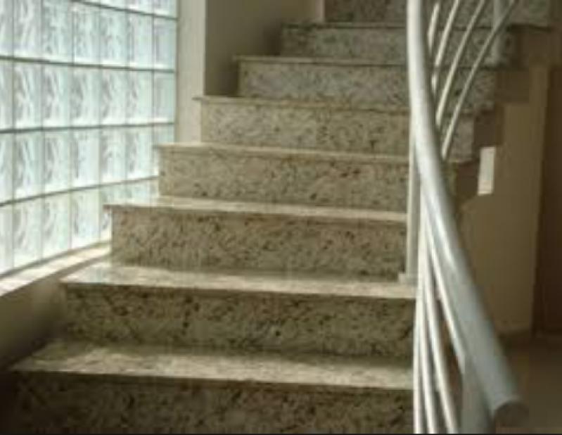 Orçamento para Escada de Pedra Mármore Invernada - Escada de Pedra