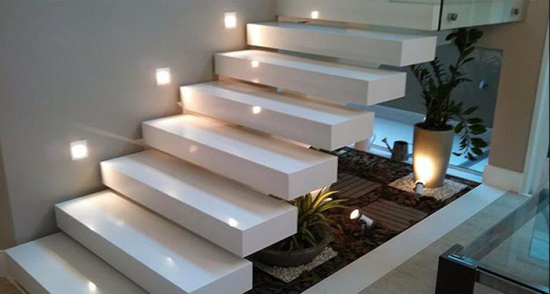 Orçar Escada Edifício Residencial Vila Dalila - Escada Entrada Residencial Externa