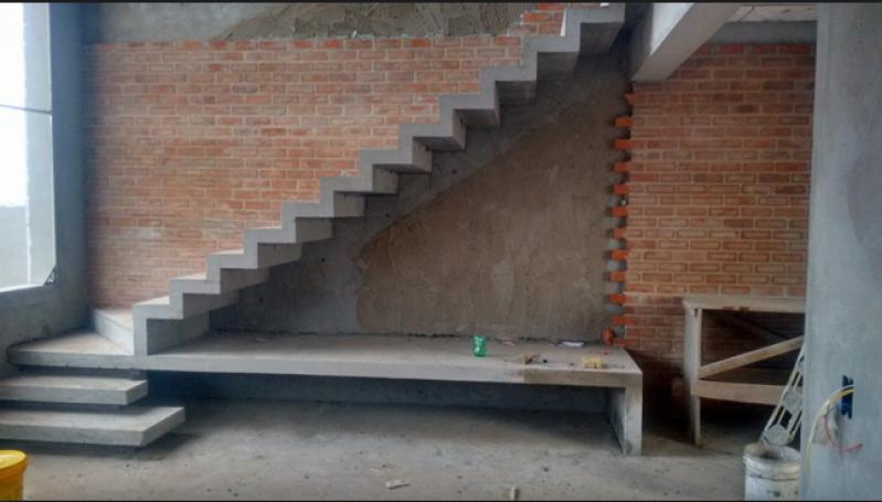 Orçar Escada Entrada Residencial Externa Jardim São Paulo - Escada de Pedra Mármore
