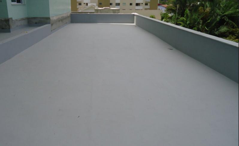 Serviço de Impermeabilização Cobertura Plana Santa Efigênia - Impermeabilização de Coberturas