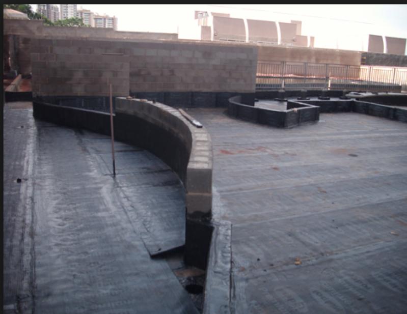 Serviço de Impermeabilização de Telhados Roosevelt (CBTU) - Impermeabilização de Fundações