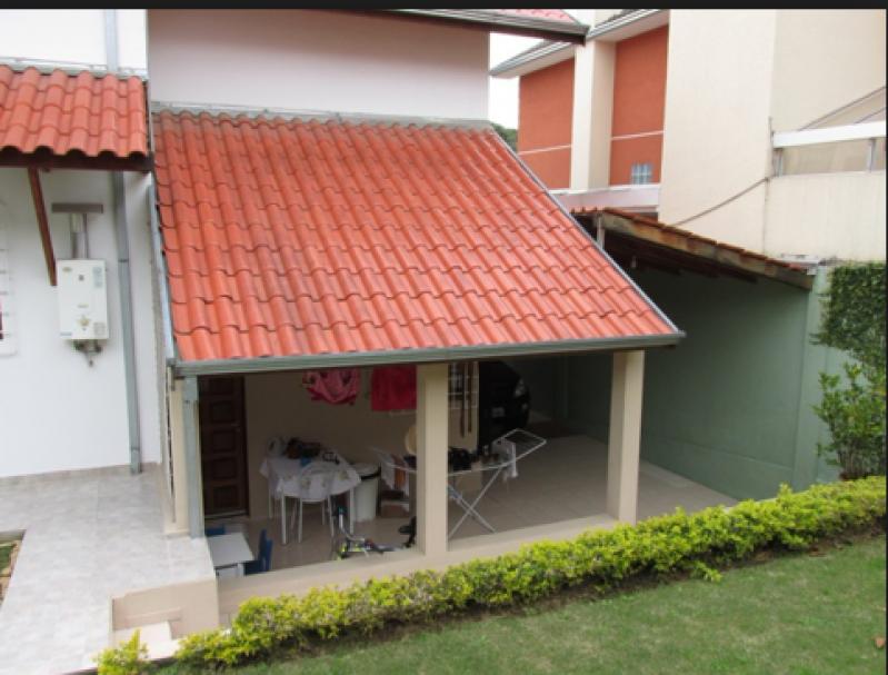 Telhado para Garagem Residencial Jardim Maria Helena - Telhado para área de Serviço