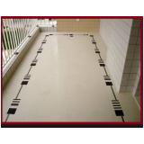 colocação de piso porcelanato Vila Mazzei