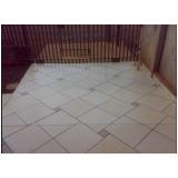 colocação de piso na diagonal