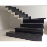 construção de escada de pedra mármore Itaquera