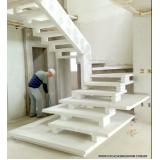 construção de escada de pedra Vila Marisa Mazzei