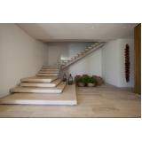 construção de escada entrada residencial externa Vila Maria