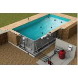 construção de piscina aquecida Tremembé