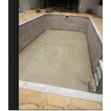 construção de piscina em alvenaria Aricanduva