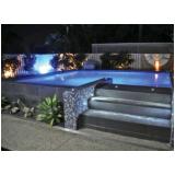 construção de piscina grande Parque do Chaves