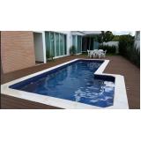construção de piscina pequena Aclimação