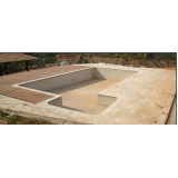 construção de piscina simples Recanto Bom Jesus