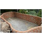 construção de piscina alvenaria