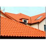 construção de telhado colonial Santana