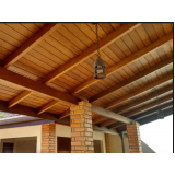 construção de telhado para área externa Invernada
