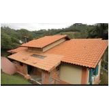 construção de telhado português Jardim Aracília