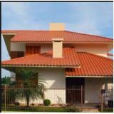 construção de telhado residencial Limão