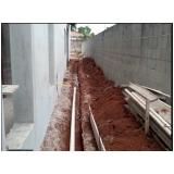 empresa de encanamento água pluvial Vila Gustavo