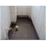 empresa de impermeabilização de banheiro Parque Peruche