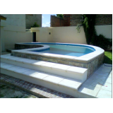 empresa para construção de piscina para residência Mandaqui