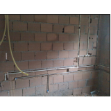encanamento água quente e fria preço Região Central