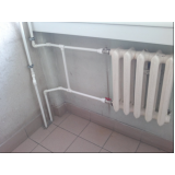 encanamento água quente preço Pompéia
