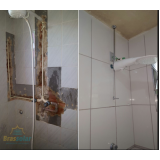 encanamento de banheiro preço Limão