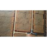 encanamento de banheiro valor Vila Mazzei