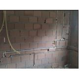 encanamento água quente e fria