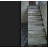 escada de alvenaria Monte Carmelo