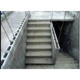 escada exterior Luz