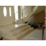 escada residencial granito Casa Verde