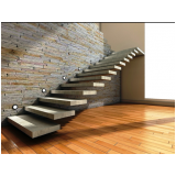 escadas entrada residencial externa Vila dos Telles