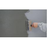 impermeabilização e pintura