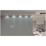 instalação luminária em apartamento CECAP