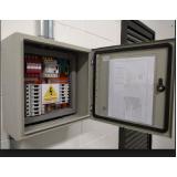 montagem de quadro elétrico bifásico