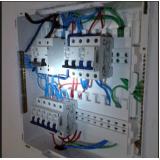 montagem de quadro elétrico com dr