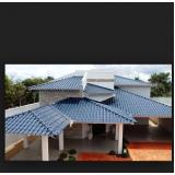 orçamento de telhado para área externa Água Azul