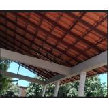 orçamento de telhado para área gourmet Bom Clima
