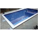 orçamento para construção de piscina pequena Parque Cecap